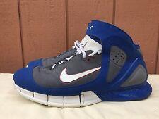EUC Nike Air Zoom HUARACHE 2K5 KOBE BRYANT ALL-STAR COOL GREY RED BLUE WHITE 13