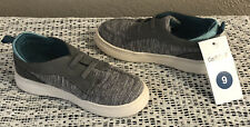 NEW CAT & JACK TODDLER BOYS EVERETT GREY GRAY SLIP-ON LOAFERS SHOES SIZE 9 NWT