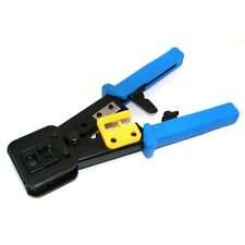 RJ11 RJ45 crimper Crimping Cable Stripper pressing line clamp pliers tongs