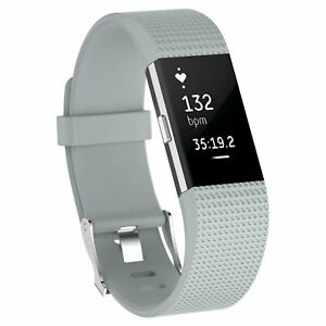 For OEM Fitbit Charge 2 /  2 HR Replacement Silicone Bracelet Watch Band