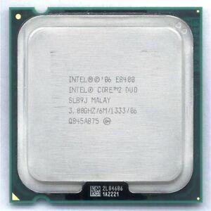 CPU Processeur Intel Core 2 Duo E8400 3GHz 1333 MHz LGA775