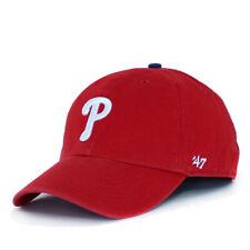 Philadelphia Phillies 47 Clean Up Hat P Men Baseball Runner Adjustable Dad Cap