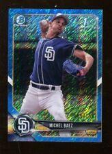 Michel Baez 2018 Bowman Chrome Prospects Blue Refractor Padres 41444