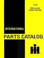 International 3800 3850 Loader Tractor Parts Manual IH