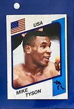 Mike Tyson Figurina Supersport Panini 1986 con velina n. 153