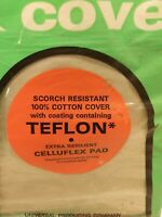 Universal Teflon Ironing Board Cover Celluflex Pads  Cushion-Fluff Pad Grey