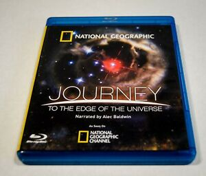 NATIONAL GEOGRAPHIC: JOURNEY TO THE EDGE OF THE UNIVERSE - BLU-RAY