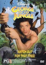 George of the Jungle * NEW DVD * Brendan Fraser John Cleese (Region 4 Australia)