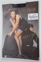 New Women's Wolford Synergy Tights Size Small Black 7005/Black