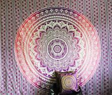 PURPLE Large Cotton Wall Hanging Tapestries Mandala Tie Dye Poster