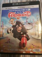 Ferdinand 4k Case please read Bluray Disc Free Shipping