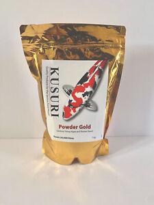 Kusuri - Powder Gold - 1KG Koi Pond Blanket Weed ERADICATOR