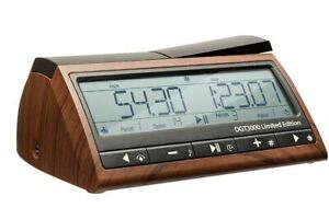 DGT 3000 Digital Chess Clock Limited Edition, Wooden Look,  New in shrink wrap!