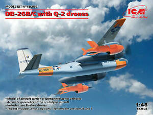ICM48286 - ICM 1:48 - DB-26B/C With Q-2 Drones