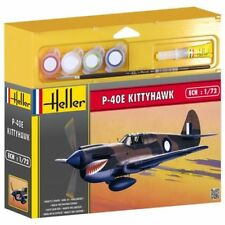 MODEL KIT GIFT SET HEL50266G - Heller 1:72 Gift Set - P-40E Kittyhawk