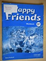 Happy friends Workbook 5AOxford scuola lingua inglese bambini illustrato 79