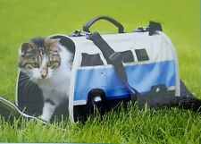 Portable Small Pet Dog Cat Volkswagen Folding Carrier Travel Crate Christmas Gif