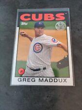 2021 Topps 1986 Greg Maddux 86b-25