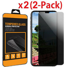 2X (2-Pack) HD Privacy Anti-Spy Tempered Glass Screen Protector for iPhone X 8 +
