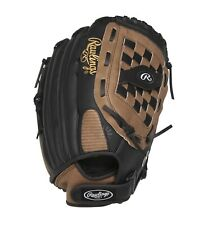 """RAWLINGS 14"""" Softball Glove - RHT Flexible LEATHER Palm- SS14BR -NEW WITH TAGS"""