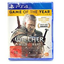 PS4 The Witcher 3 Wild Hunt Game of the Year Edition NEU OVP