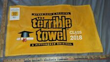 MYRON COPES OFFICIAL THE TERRIBLE TOWEL CLASS OF 2018 GOLD EDITION NWT