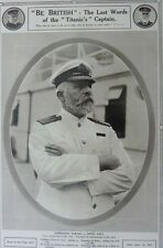 RMS TITANIC A3 size POSTER White Star Line Liner Steam Ship CAPTAIN SMITH 1912