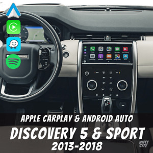 Land Rover Discovery 5 & Sport 2013-2018 Apple CarPlay & Android Auto