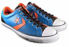 Converse Cons Star Player EV Lo Sneakers Leather Blue Orange Men's 12 139868C