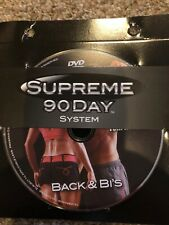 Supreme 90 Day System Back & Bi's Replacement Disc ONLY Free Shipping DVD