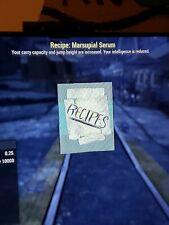 Fallout 76 [Ps4] Marsupial Plan