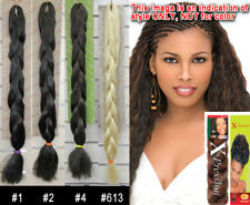 X-Pression Synthetic Dreadlocks Kanekalon Jumbo Ultra Braid Hair Extension