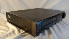 Sony Slv-393 Da Pro 4 Head Vhs Vcr - Tested And Works Great - Good Condition