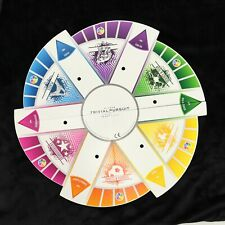 Trivial Pursuit 2000s Game Board ~ Replacement ~ Gameboard 4-Fold