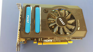 MSI Radeon HD R7770 1GB DDR5 (R7770-PMD1GD5) GPU