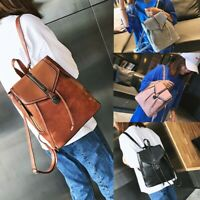 Women Fashion Soft Leather Bags Casual Zipper Packet Backpacks Bags Shoulder Bag