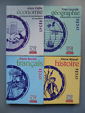 Collectif, LYCÉE HISTOIRE FRANÇAIS ÉCONOMIE GÉOGRAPHIE ÉDUCATION CIVIQUE,