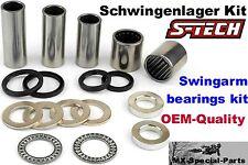braccio mobile montaggio HONDA CRF 450 R 05-12 kit completo # swing arm bearings