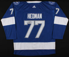 Tampa Bay Lightning Victor Hedman Firmado Adidas Jersey (JAMES SPENCE AUTHENTICATION) veteren Defensa