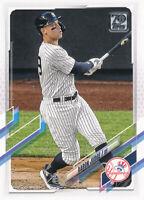 Aaron Judge 2021 Topps Series 1 #99 New York Yankees