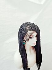 Women Braided Lace Wig.  choose your colour