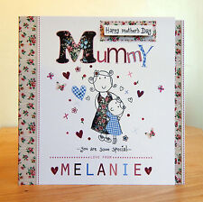 Mother's day Card Special/Personalised/Special Mother's day cute card for Mummy