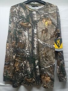 Browning hunting Hell's Canyon T-Shirt XL drake banded waterfowl non typical