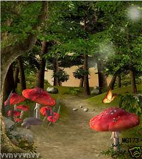 Vinyl Backdrop Studio Photography Prop Photo Background fairy tale 5x7ft MG173