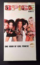 Spice Girls One Hour of Girl Power VHS vintage videos Victoria Beckham Geri Mel