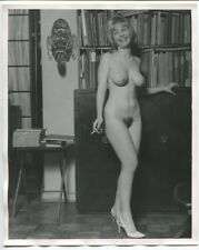 Brenda Collins by Roy Kemp Original 1960 Beatnik Art Nude Photograph 1135