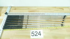 8 True Temper Dynamic Gold Iron Golf Club Shafts .355 Taylor Made Tp Pulls