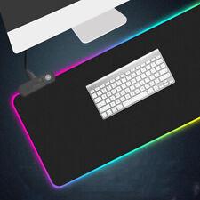 Tappetino Pad per Gaming Mouse Tastiera RGB Illuminazione LED 78x30x0.3cm