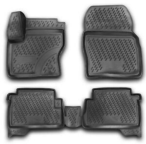 Gummimatten für Ford Kuga MK2 ab 2013- Gummi Fußmatten 4 teilig 3D Schalen Quali
