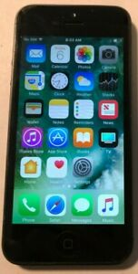 Apple iPhone 5 16GB Black (Sprint) A1429 Fast Ship GSM Very Good Used
